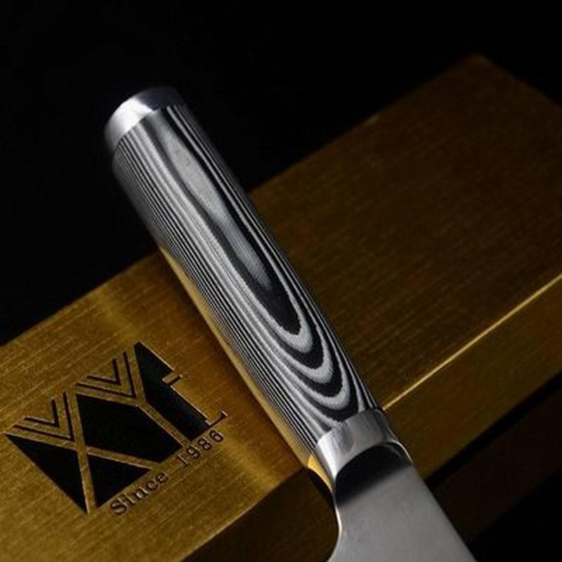nuovo di damasco coltello da chef di 8 pollici con il regalo scatola miglior coltello da