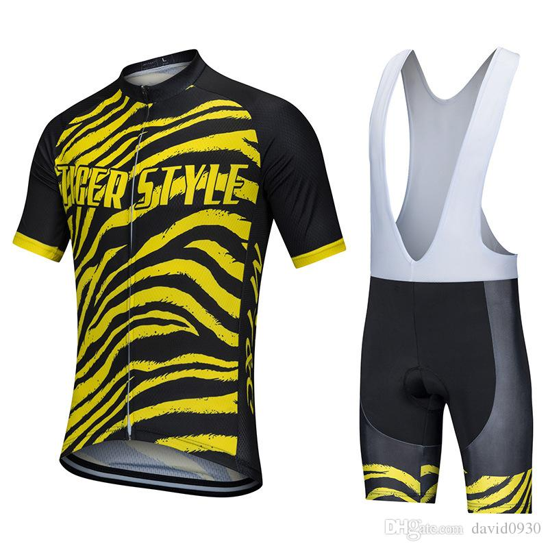 MT C Cycling Jersey Set Tiger Style Sport Breathable Clothes Quick Dry 9D  Gel Pad Bicycle Spring Summer Sportswear Bike Clothes Cycle Jersey Cheap  Cycling ... 0906fcadc