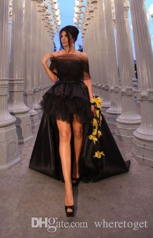 2019 New Designer Modern Clothes For Mother And Daughter Evening Dresses Wrap Hi-Lo Sleeveless Strapless Tulle Prom Party Gowns Custom Made