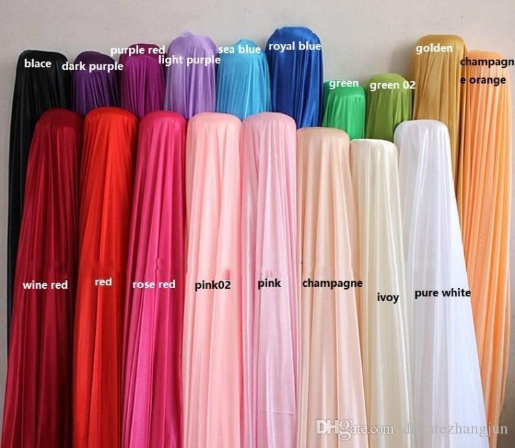 3m*6m Fabric Ice Silk Drape Curtain Wedding Backdrop Decoration with Swag Party Stage Celebration Favors 20ft w x 10ft h