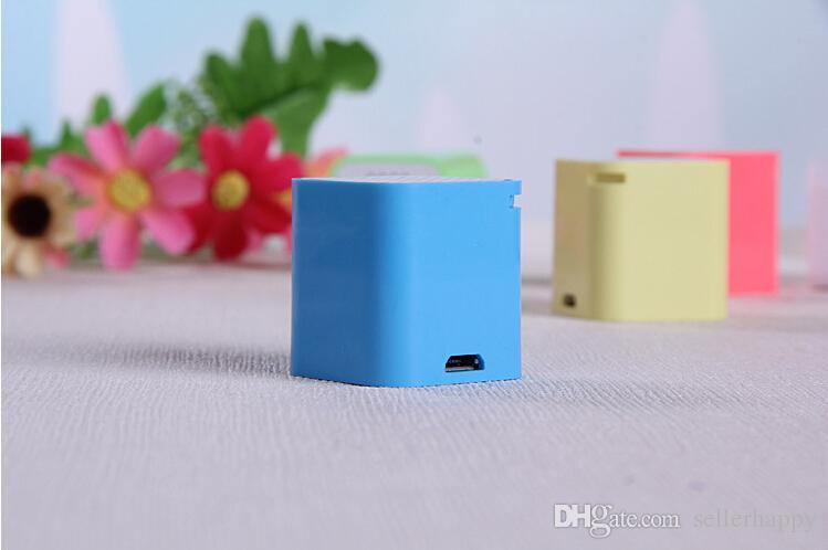 NEW Smallest Bluetooth Speaker Smart Sound Box Music Player Speaker with Anti-Lost Camera Remote Shutter Function ZKT