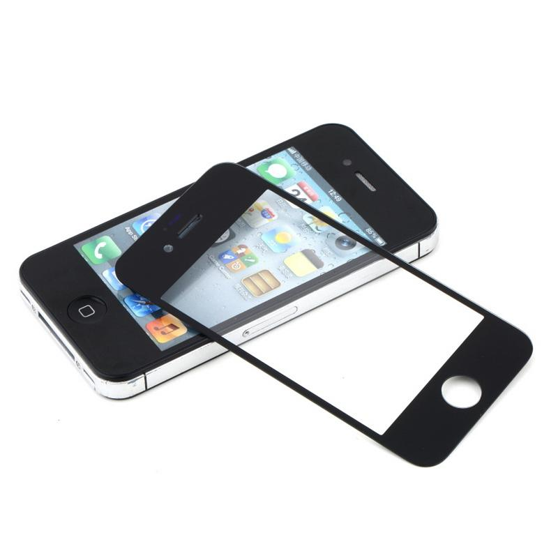 For iphone 5/5C/5S 4G/4S Front Outer Screen Glass Lens Cover Replacement Parts