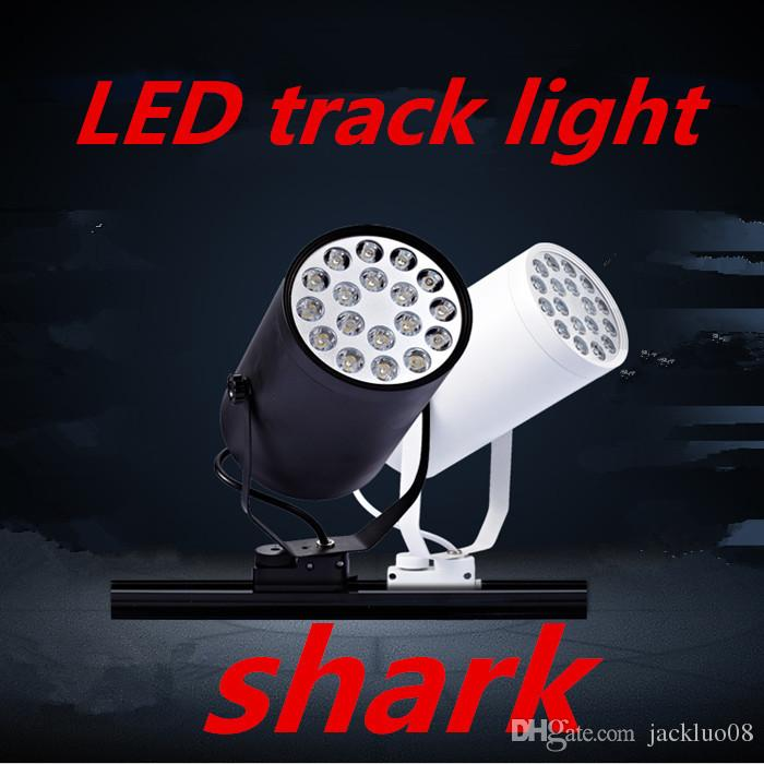 LED Track Lighting 7w bulbs tracking lighting 7 Watt kitchen Lights110V~240V 3leds modern lighting factory china