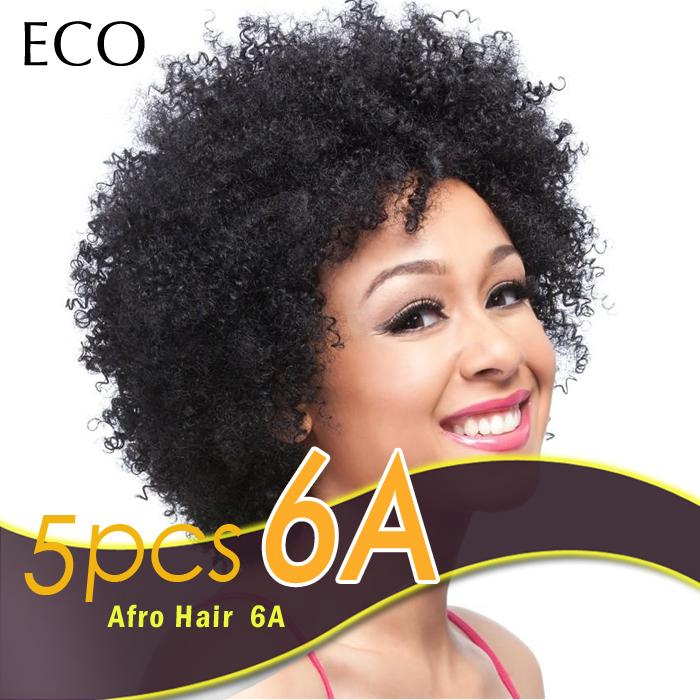Afro Curly Weave Hair Extentions Human Curly Hair Bundles Peruvian