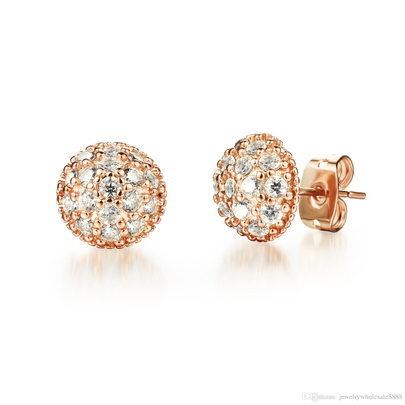 add earrings gold wave diamond women for delicate to in nl with cart wg diamonds fascinating earring white jewelry