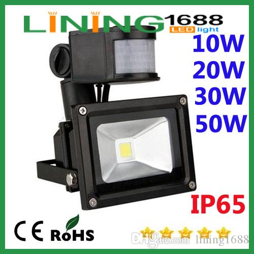 Lowest Price 10pcs High Power Black Cover Rgb Led Flood Light Bulb Cool White Ip65 900lm Ac85-265v Portable 10w Led Spotlight Excellent In Quality