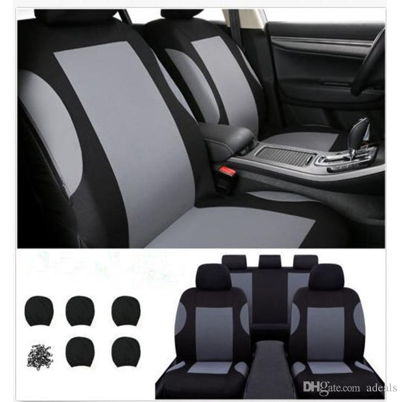 Car Seat Protection Cover For Most Universal Fit CarTruckVanSUV Airbag Red BlackGray Cheap Covers Cars