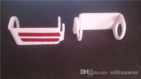 Acrílico e cig display stand prateleira preto branco cor carro suporte rack box para vapor mech mod mecânica vape ecig ego evod bateria e cigarro
