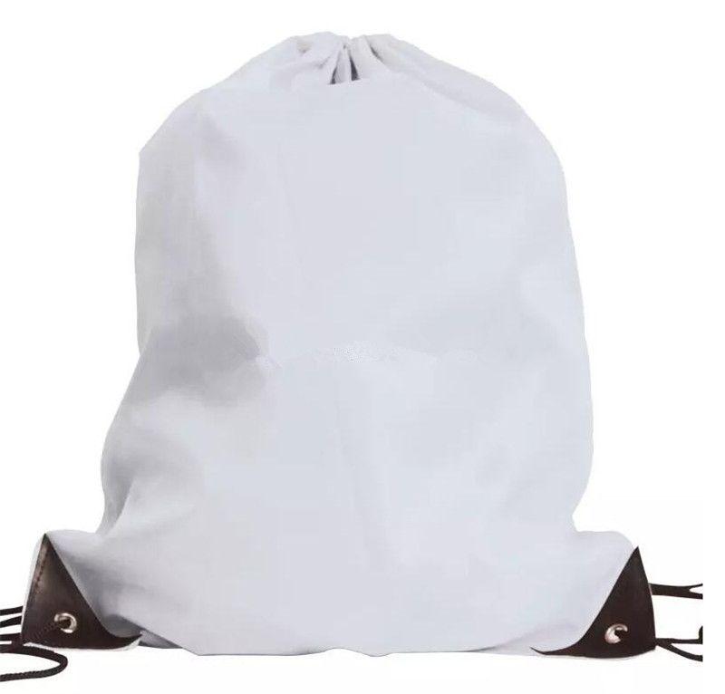 Neuer Normallack Drawstringbeutel Polyester-Süßigkeitfarbenbeutel scherzt Kleidungsschuhe Rucksack-Sport-Gymnastiktaschen B11