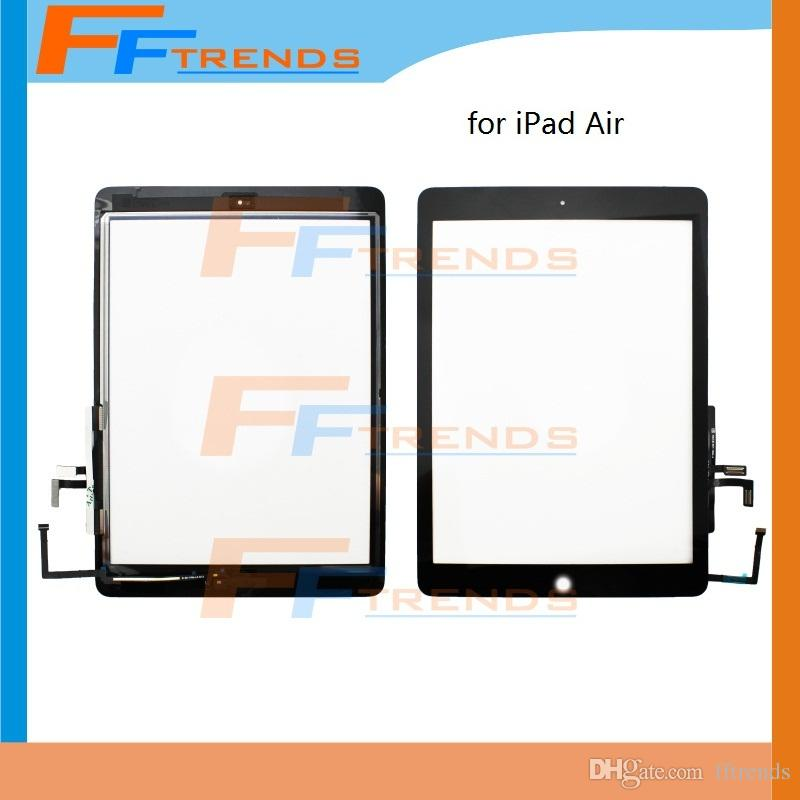 factory supplier for ipad air 5 5th touch screen digitizer assembly with home button white black. Black Bedroom Furniture Sets. Home Design Ideas