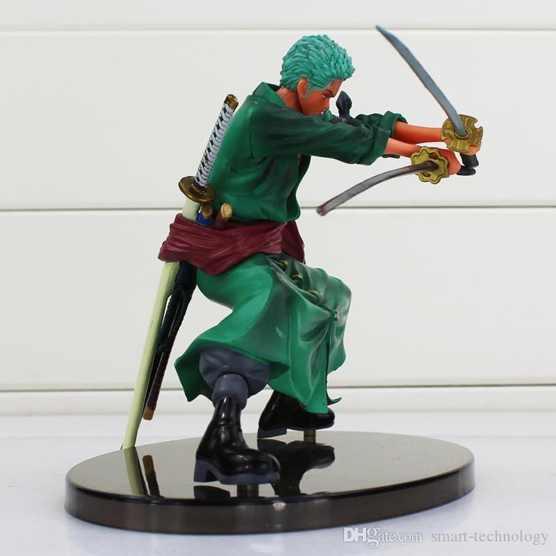 원피스 Roronoa Zoro PVC Figure 장난감 결정적인 전투 버전 PVC 액션 피규어 컬렉션 모델 장난감