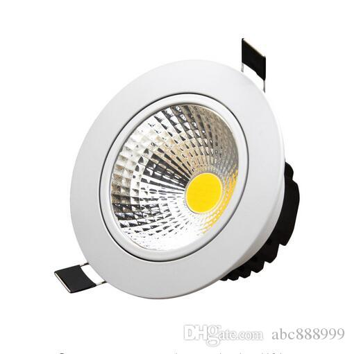 Dimmbare Led Downlight Cob Ac110v 220 V 5w 7w10w 12w Einbau Led Spot Licht  Lumination Indoor Dekoration Deckenleuchte Led Ceiling Downlights Led  Downlights ...
