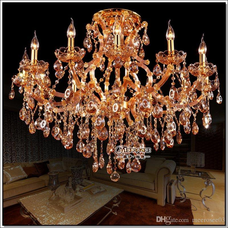 Amber crystal chandelier light shop light ideas 13 lights best selling amber crystal chandelier light big glass aloadofball Gallery