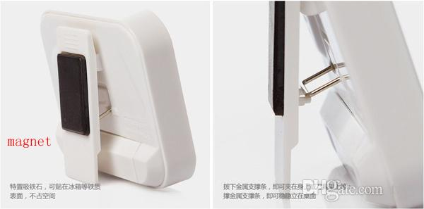Noel Hediyesi Dijital Mutfak Count Down / Up LCD ekran Zamanlayıcı / saat Alarm ile mıknatıs standı klip