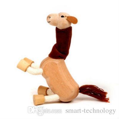 anamalz érable bois animaux mobiles jouet animaux de la ferme en bois zoo bébé jouets éducatifs 6-12cm livraison gratuite