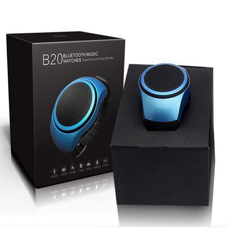 Stylish Speakers best b20 stylish watch design bluetooth speaker portable bass