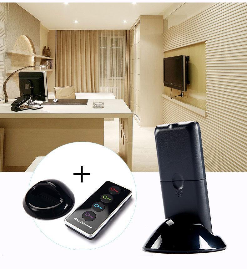 4 1 kablosuz akıllı uzaktan araba akıllı anahtar bulucu tracker kayıp tuşları bulun uzaktan kumandalar cüzdanlar arayanlar anti-kayıp alarm el feneri