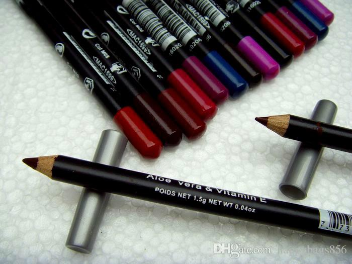 Fabrika doğrudan! Yeni Profesyonel Makyaj Eyeliner Lipliner Kalem! 12 Renkler