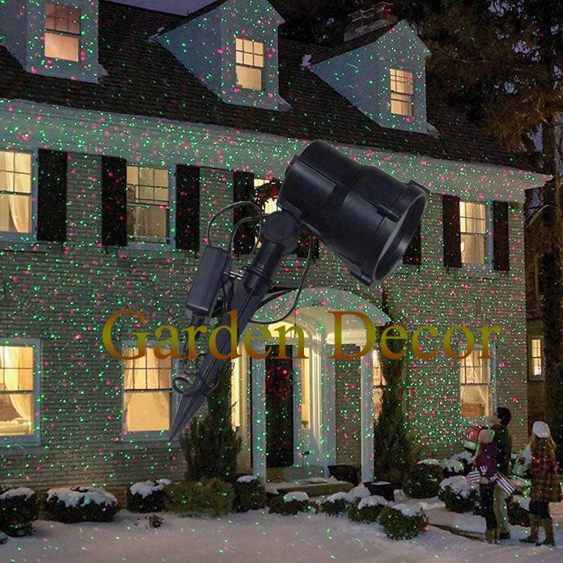 Waterproof Outdoor Christmas Lights Elf Laser Projector,Red Green ...
