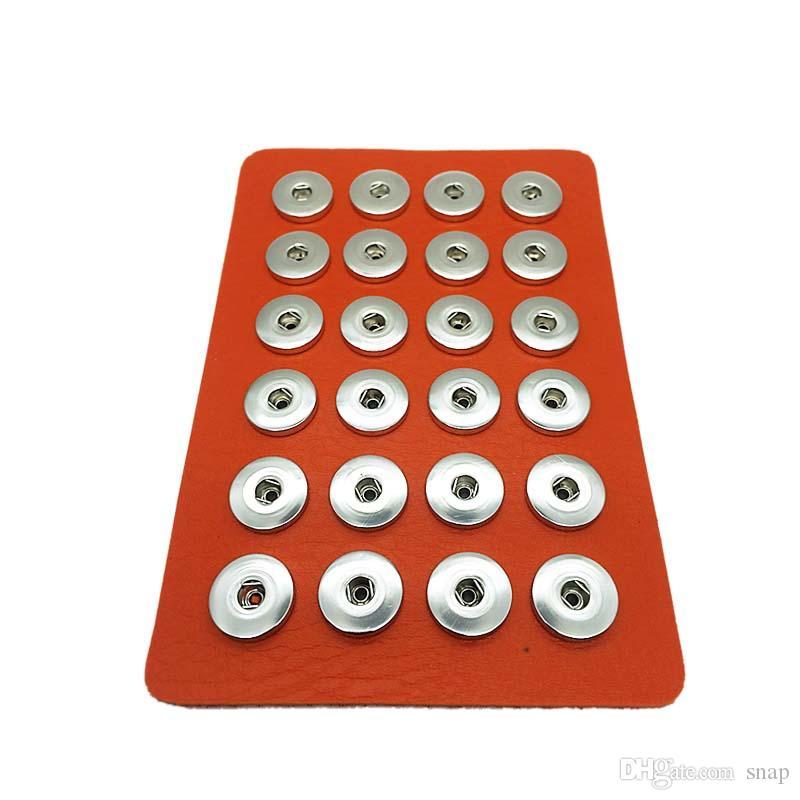 8 ألوان luellever مجوهرات المراهقين 24 قطع بو الجلود 18 ملليمتر المعادن زر المفاجئة عرض المجلس watche النساء اتجاه واحد شحن مجاني