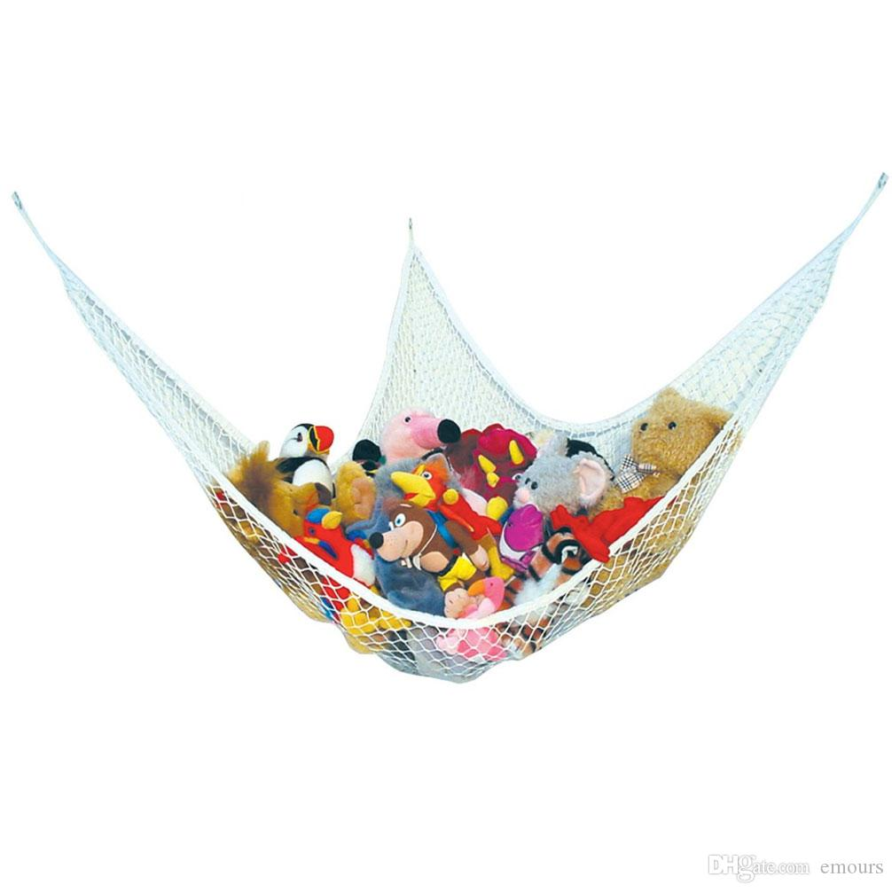 Toy Hammock Stuffed Animal Hammock Toy Storage Pet Net Toy Net Hammock for Stuffed Animals Triangular Net for Nursery Playroom Toy Room etc