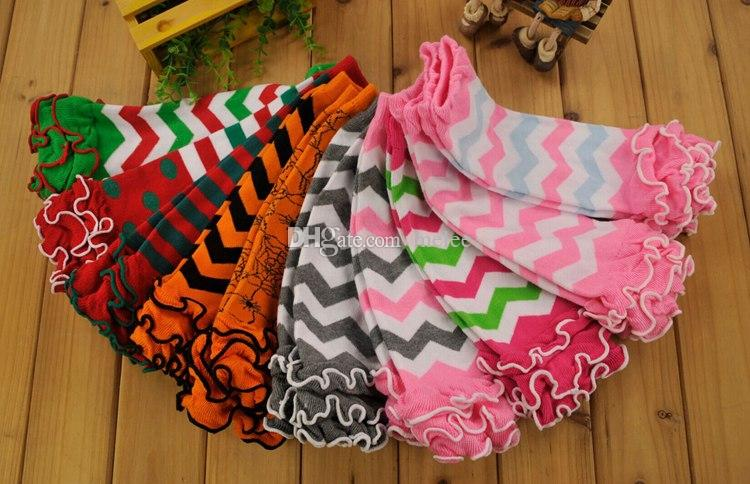 Children Chevron Leg Warmers Baby Zigzag Ruffle Leg Warmer Baby infant colorful leg warmer children Legging Tights Legging toddler kneecap
