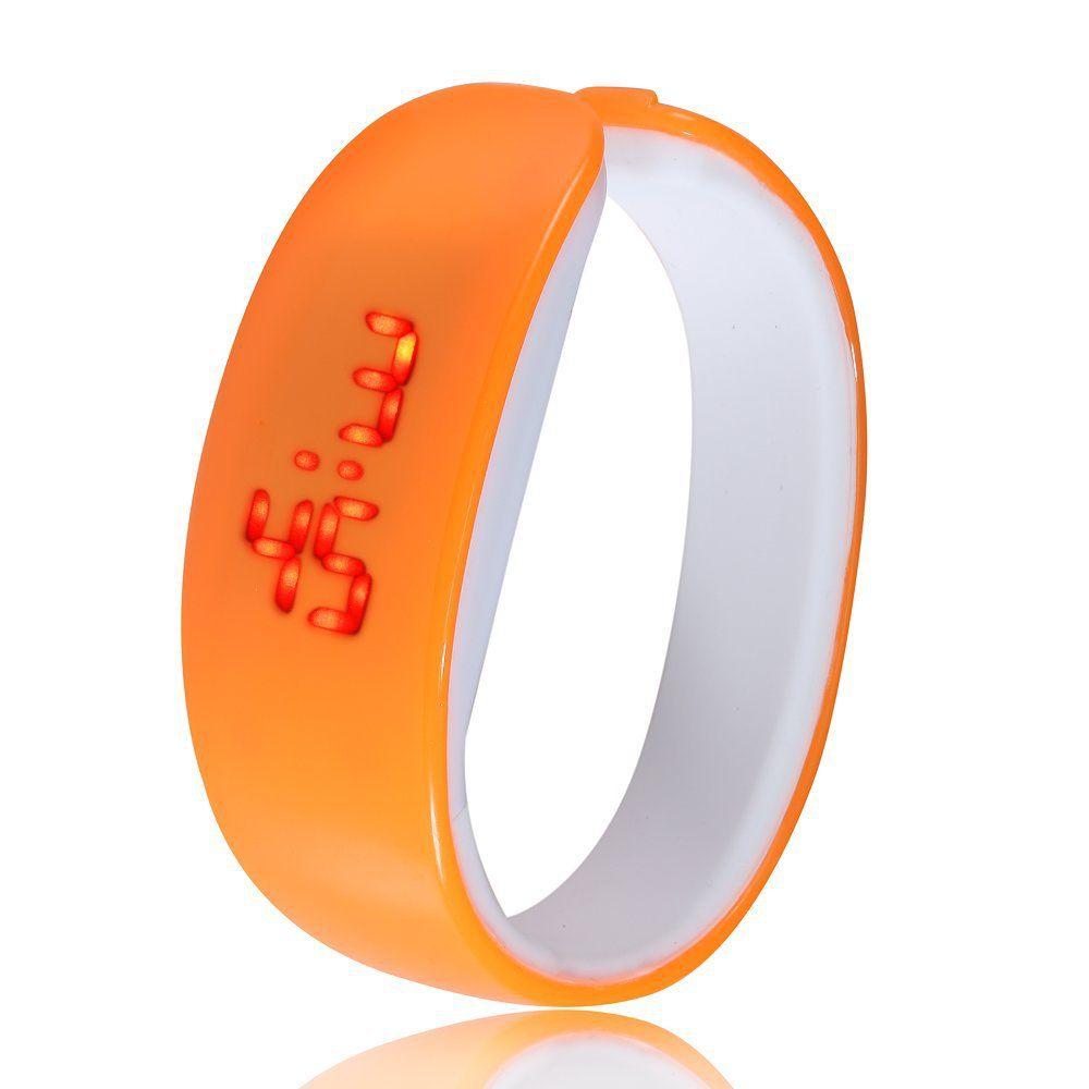 2016 Fashion Cartoon Dolphin LED Electronics Men Sports Women Bracelet Wristwatch Digital LED Girl Digital-watch Wrist Watch