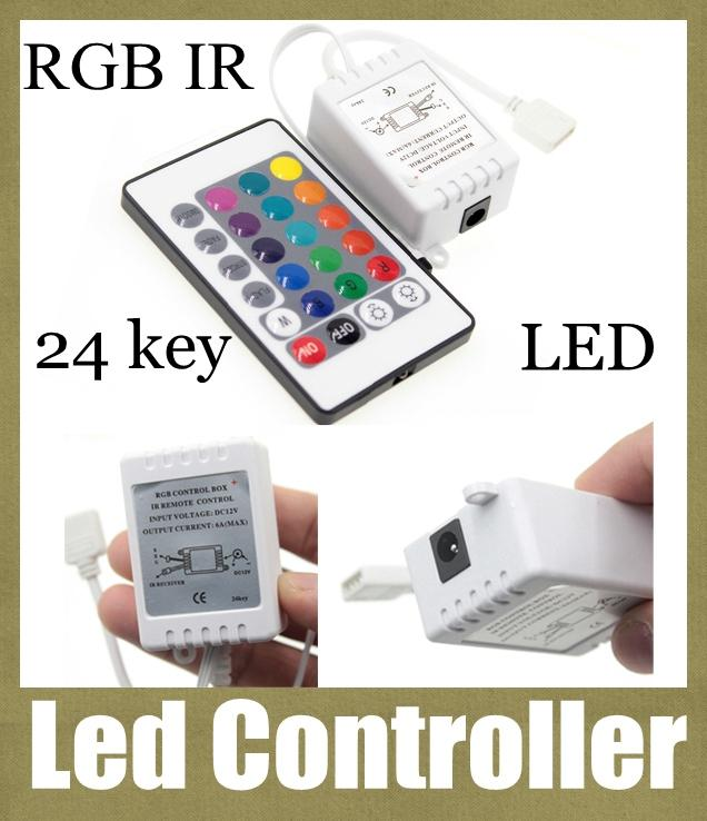 Wireless remote led light dimmer controller rgb program 24 key 12v wireless remote led light dimmer controller rgb program 24 key 12v dc ir remote control light switch for remote led string lights dt001 rgb led lamps remote aloadofball Images