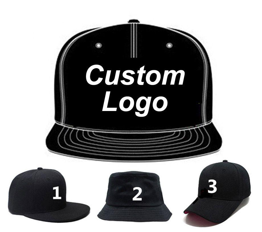 Custom Baseball Snapback Caps Free Embroidery Printing Logo Adult Or Kids  Size High Quality Fashion Own Design Team Dancers Hats Cap Shop Flexfit Caps  From ... e4aeec7b5341