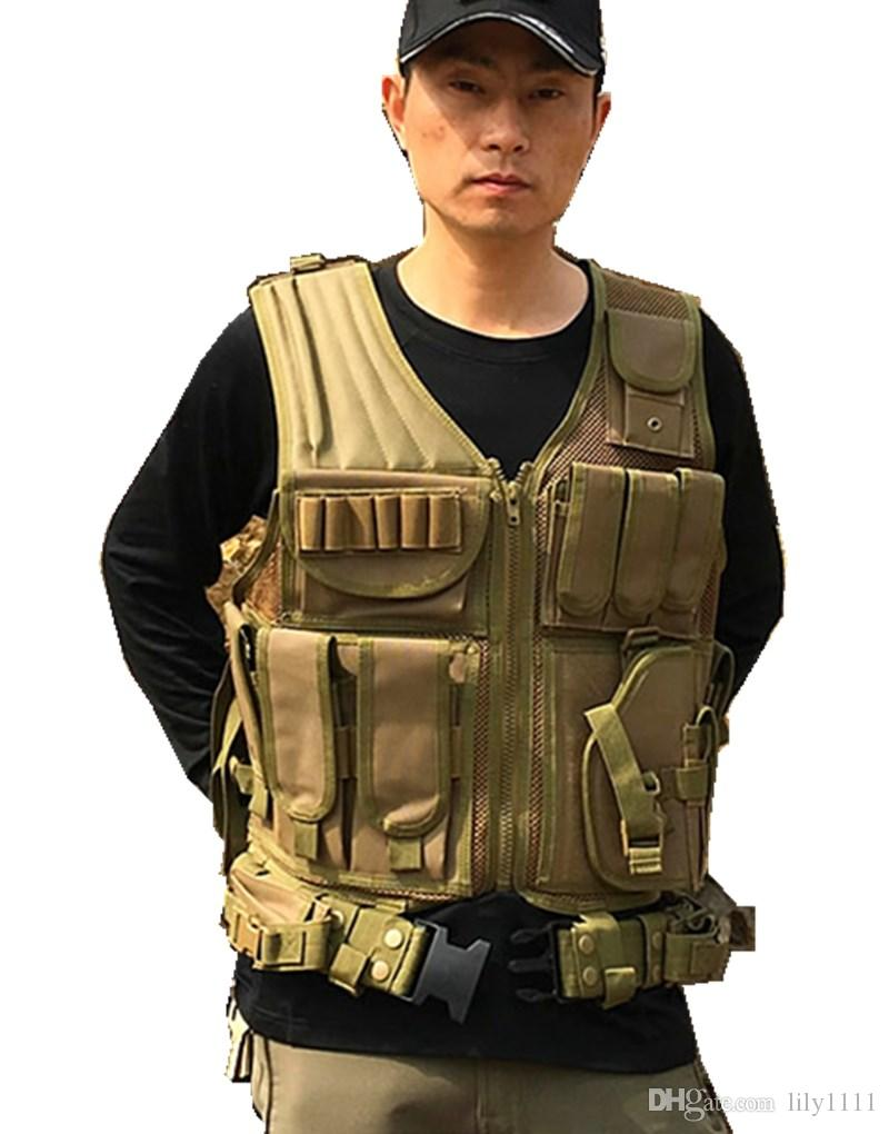 Spedizione gratuita Tactical Vest esercito uniforme da combattimento Vest i