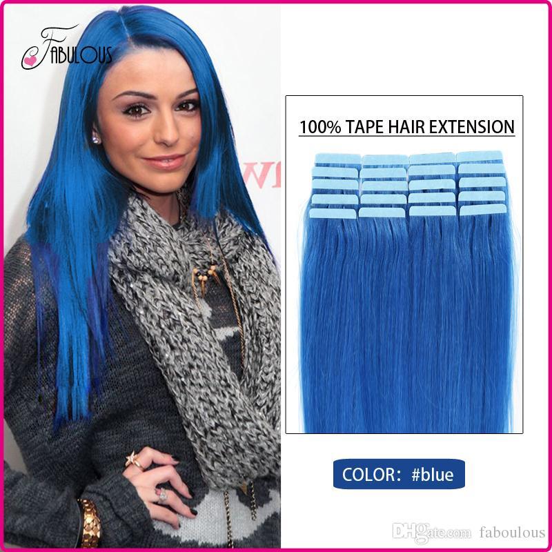 Cheap Tape Human Hair 16 24inch Tape Hair Extension Brazilian