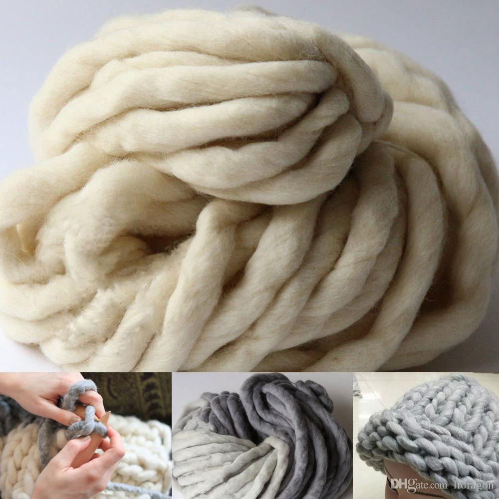 2019 Super Thick Yarns Scarf Blanket Knit Yarn High Grade Thick Hat