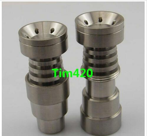 Universal Infinity Domeless Titanium Nail 14mm & 18mm Adjustable Male or Female Oil Gr2 domeless titanium nails