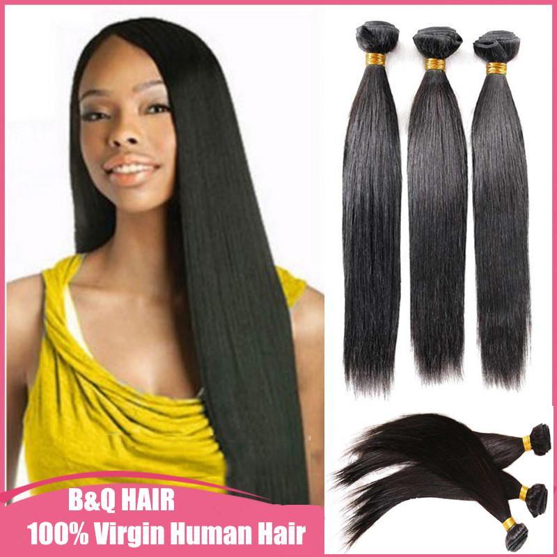 3 Brazilian Hair Virgin Human Hair Clip Inon Hair Extensions