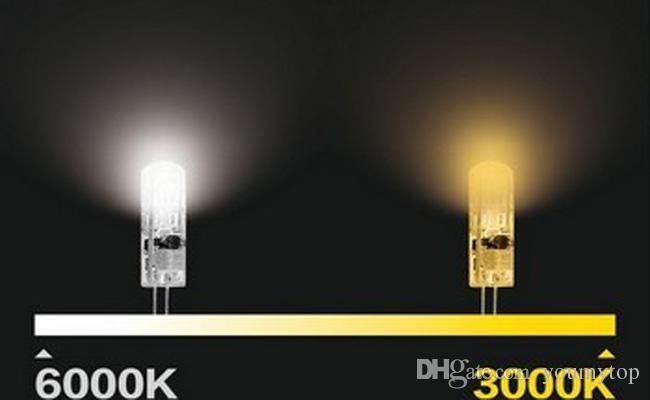 고품질 디 밍이 G4 주도 12V 24 개의 LED 3014 칩 실리콘 램프 DC12V 크리스탈 옥수수 빛 3W 전구 조명 / 로트