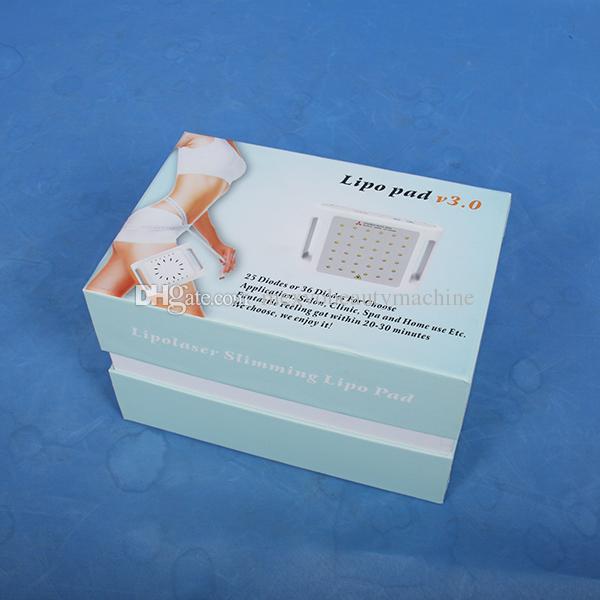 Alta calidad láser liposucción cavitación 25/36 diodos láser lipo TLBI adelgazar máquina Cuidado del cuerpo del balneario de Uso Equipo