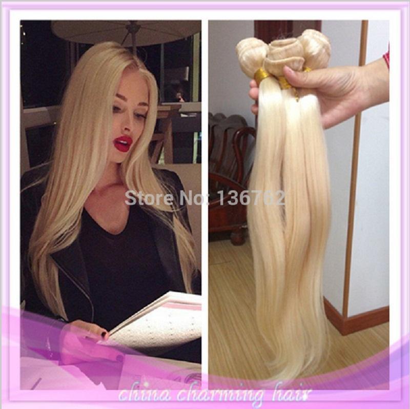 8a brazillian platinum blonde virgin human hair weave extensions see larger image pmusecretfo Images