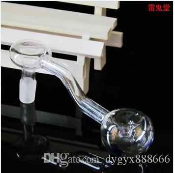 Изделия из стекла Бонг, аксессуары прозрачный вогнутый горшок, оптовая продажа кальянных аксессуаров, бесплатная доставка, большой лучше