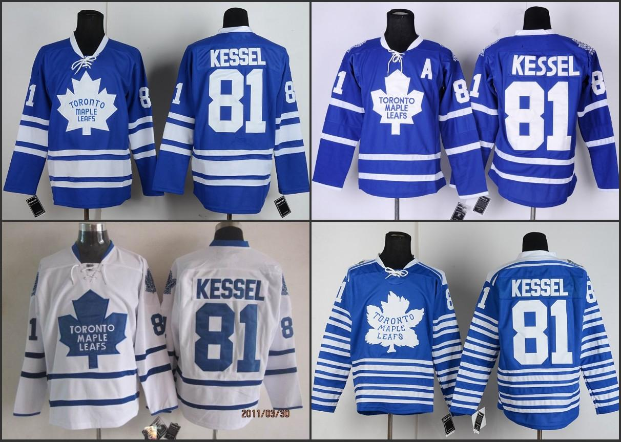 e575439f3 ... 2017 MenS Toronto Maple Leafs 2014 Winter Classic Leafs Hockey Jerseys  81 Phil Kessel Jersey Blue ...