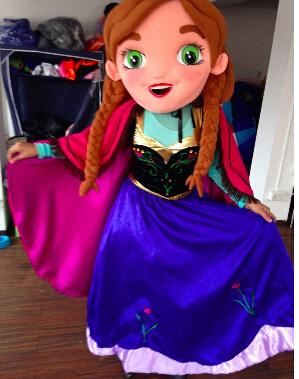 See larger image & 2015 New Special Anna Frozen Mascot Costume Elsa Olaf Figure Ice ...