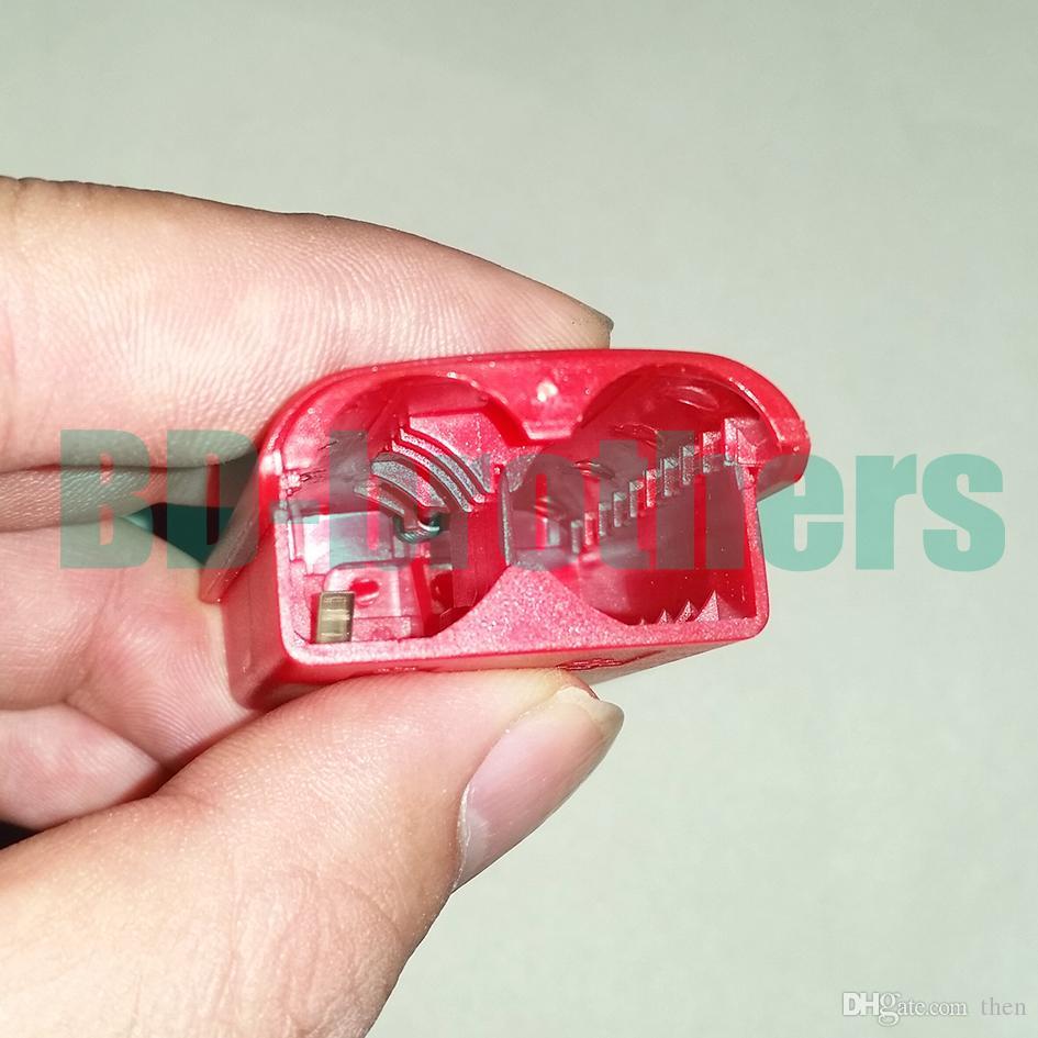 다채로운 배터리 케이스 커버 셸 주택 X 박스 360에 대 한 Xbox360 무선 컨트롤러 충전식 교체 블랙 화이트 레드 핑크 /