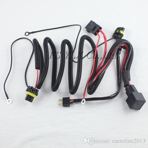 1 x hid xenon kit single beam wire harness 1 x hid xenon kit single beam wire harness cable with relay for h1 single pin waterproof wire harness at virtualis.co