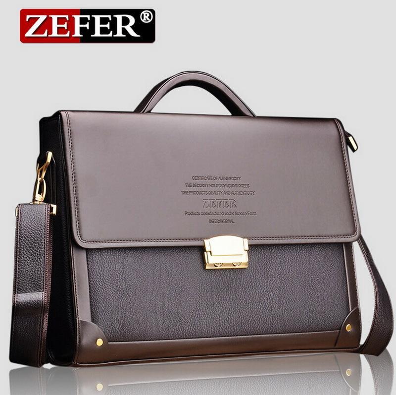 7b0ce1bf65 Fashion Men Bags Coded Lock Bags Messenger Shoulder Belt Bag Hot Sale  Leather Men Briefcase Portfolio Famous Brand Business Bag Business Cases  Wheeled …