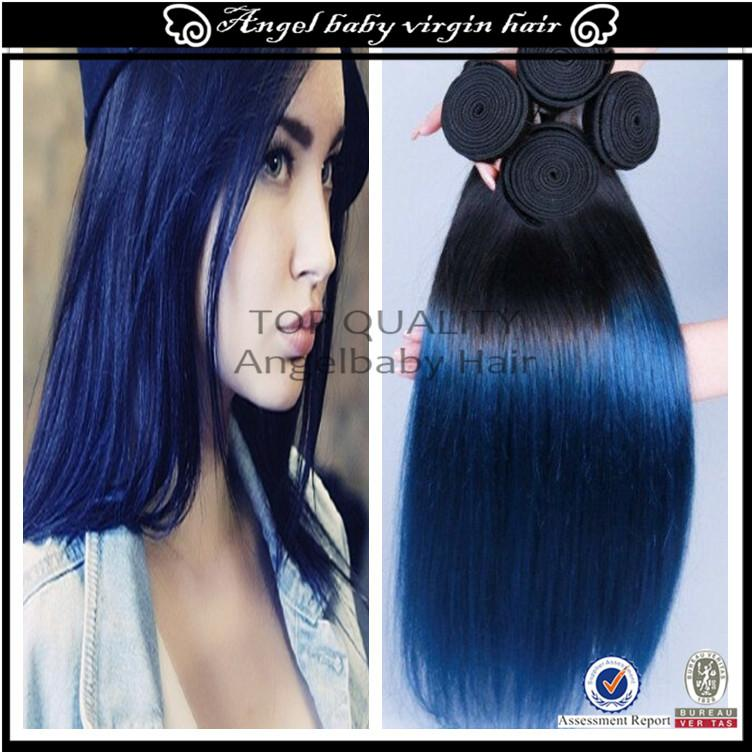 Human hair weave ombre blue brazilian virgin hair color blue 3 human hair weave ombre blue brazilian virgin hair color blue 3 bundles new arrival ombre dark blue human hair 7a best ombre hair pmusecretfo Image collections