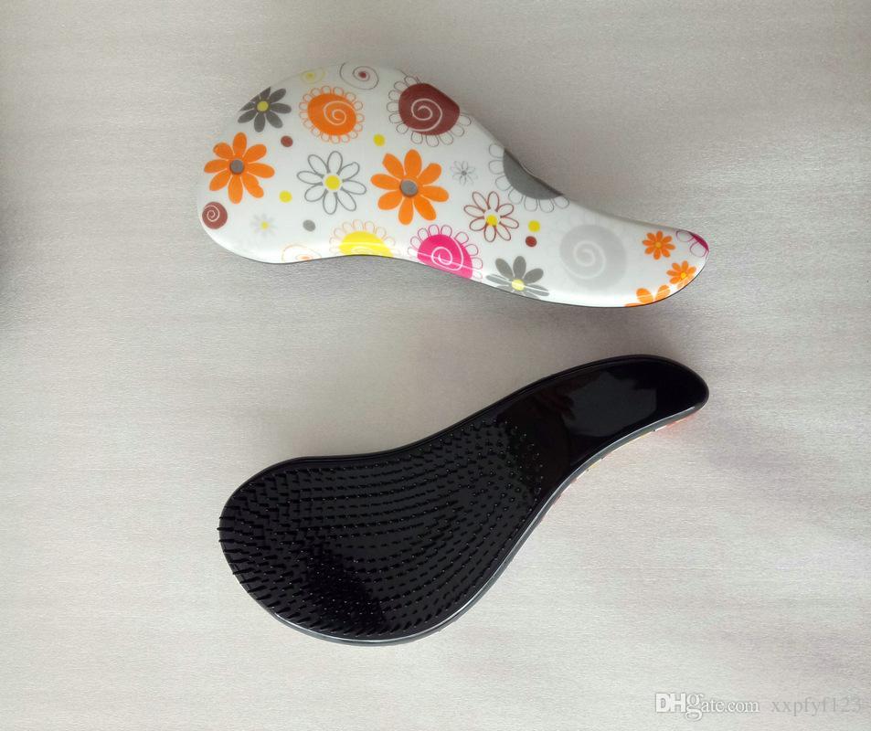Magic Detangling mango cepillo de pelo peine salón herramienta de peinado enredo ducha pelo peine TT cepillo de pelo A65