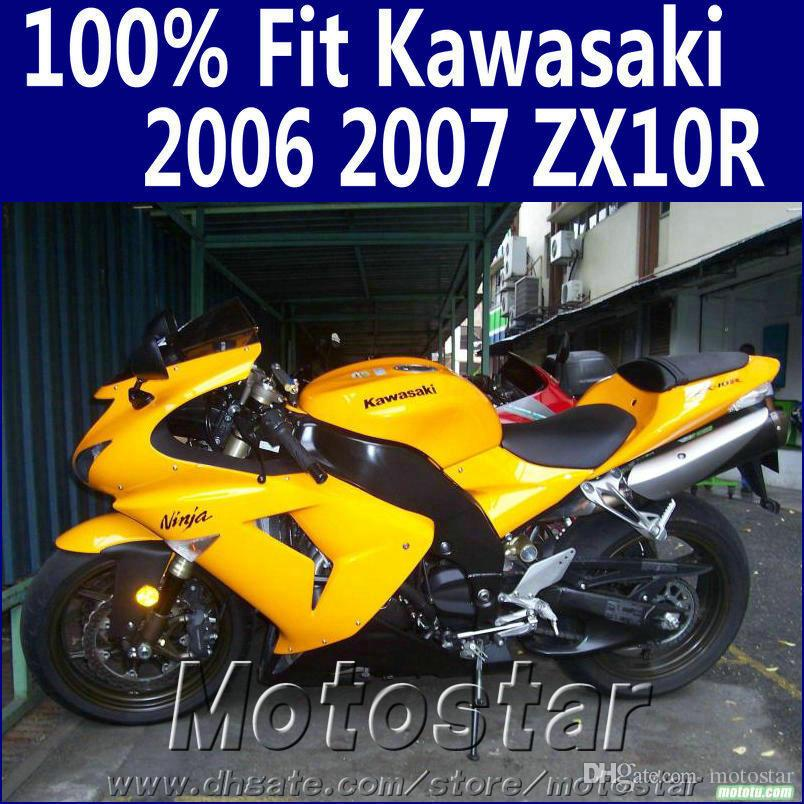 Injection Molding Fairing Kit For Kawasaki Ninja Zx10r 2006 2007