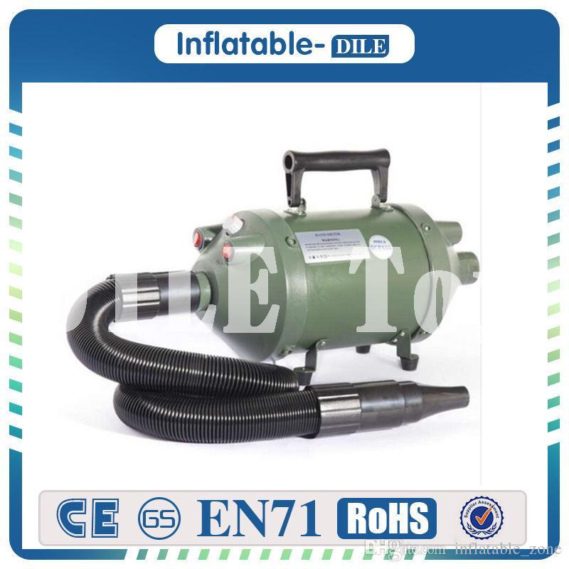 Aeratore di aria elettrico della pompa di aria libera di trasporto 1200W il calcio della bolla, palla del paraurti, calcio della bolla, palla del rullo dell'acqua, palla di Zorbing