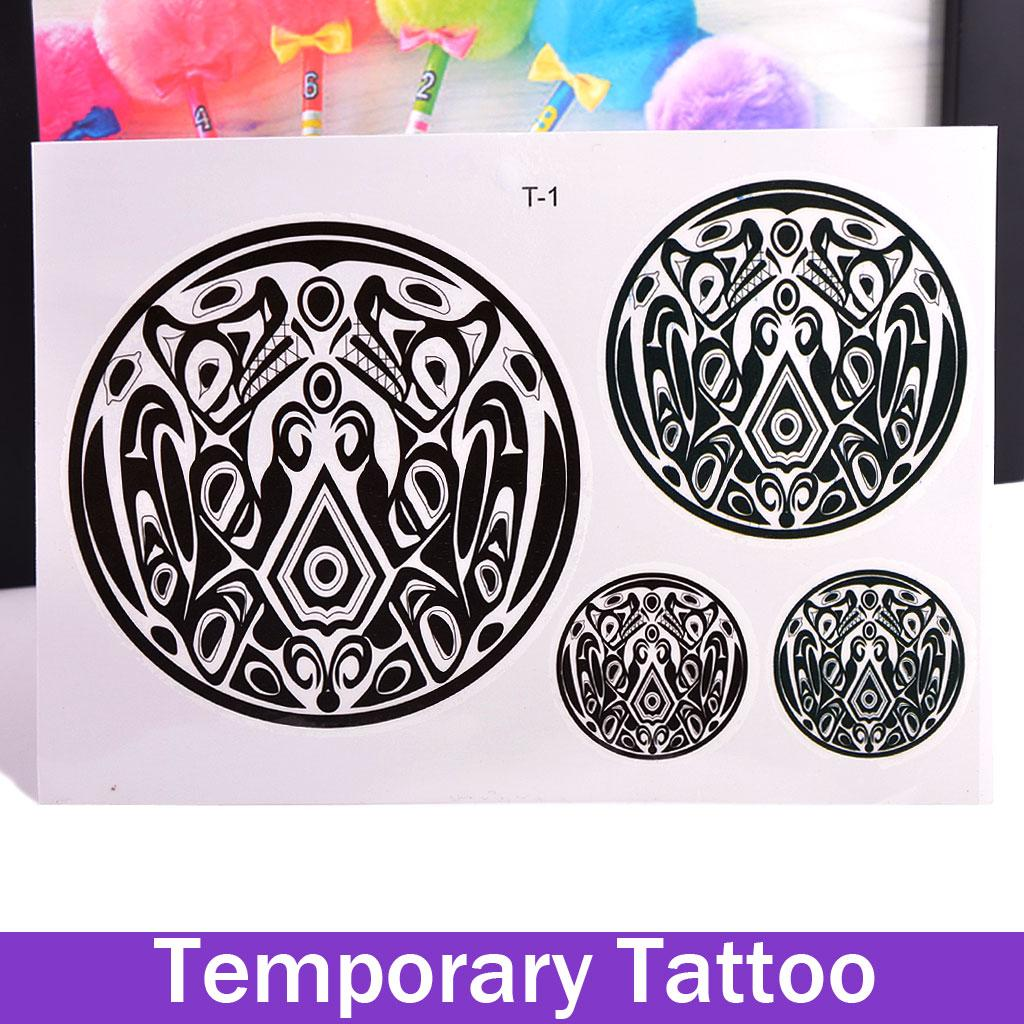 Beauty removable waterproof temporary tattoo tattoo body for Twilight jacob tattoo temporary