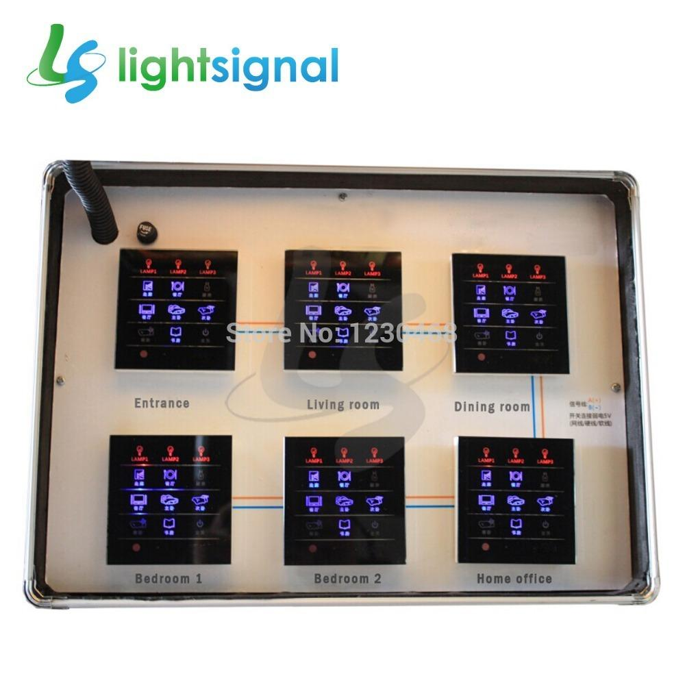 Fresh New Smart Home Switches Touch Screen Wall Switch Mutual ...