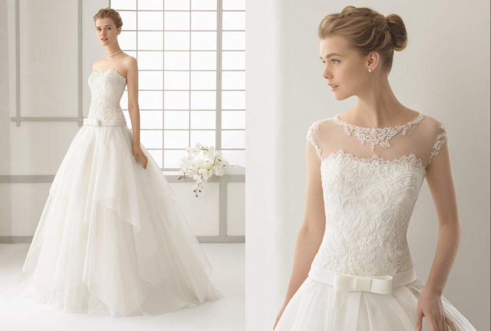 Discount Stunning Wedding Dress Detachable Strap Discount Backless ...